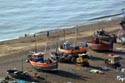 Image Ref: 1015-05-10 - Britain's biggest fleet of beach-launched fishing boats at Hastings, Viewed 4598 times