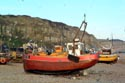 Image Ref: 1015-05-16 - Britain's biggest fleet of beach-launched fishing boats at Hastings, Viewed 4636 times