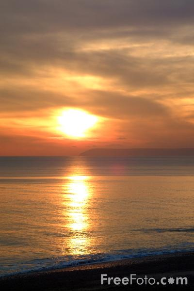 Picture of Sunset, Hastings - Free Pictures - FreeFoto.com