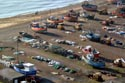 Image Ref: 1015-05-8 - Britain's biggest fleet of beach-launched fishing boats at Hastings, Viewed 8562 times