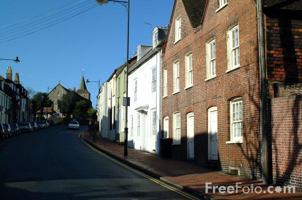 Picture of High Street, Lewes - Free Pictures - FreeFoto.com