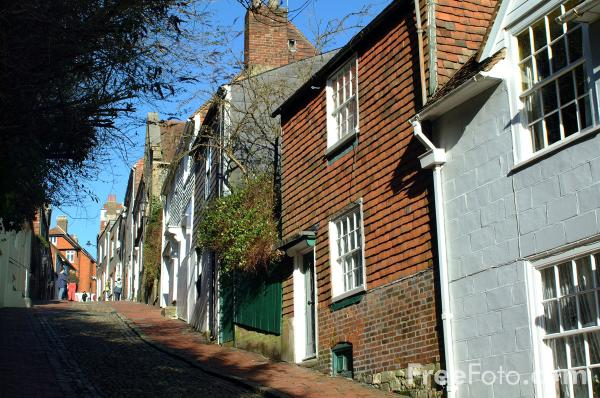 Picture of Keere Street, Lewes - Free Pictures - FreeFoto.com