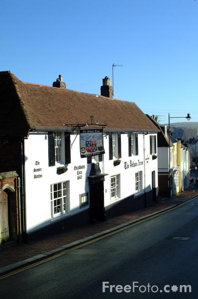 Picture of Pelham Arms, St Anne's Hill, High Street, Lewes - Free Pictures - FreeFoto.com
