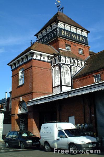 Picture of Harveys Brewery, Lewes - Free Pictures - FreeFoto.com