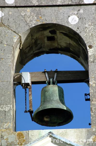 Picture of Church Bell, St Peter Church of England, Glynde - Free Pictures - FreeFoto.com