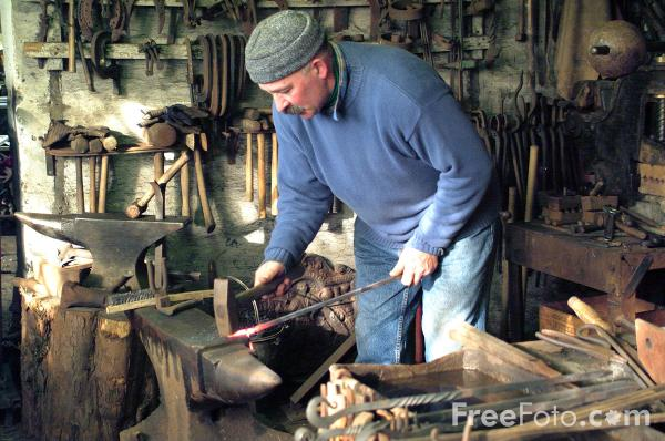 Picture of Blacksmith - Free Pictures - FreeFoto.com