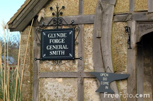 Picture of Glynde Forge, Glynde - Free Pictures - FreeFoto.com