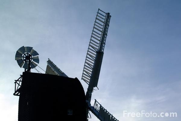 Picture of Windmill, Icklesham - Free Pictures - FreeFoto.com