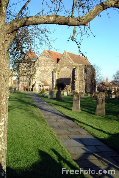 Picture of St Thomas's church, Winchelsea - Free Pictures - FreeFoto.com