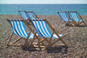 Image Ref: 1015-13-10 - Deck chairs, Brighton seafront, Sussex, Viewed 4196 times