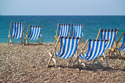 Image Ref: 1015-13-11 - Deck chairs, Brighton seafront, Sussex, Viewed 4202 times