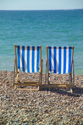 Image Ref: 1015-13-63 - Deck chairs, Brighton seafront, Sussex, Viewed 3989 times
