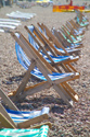 Deck chairs, Brighton seafront, Sussex has been viewed 4686 times