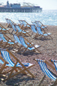 Image Ref: 1015-13-68 - Deck chairs, Brighton seafront, Sussex, Viewed 3804 times