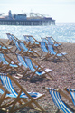Image Ref: 1015-13-69 - Deck chairs, Brighton seafront, Sussex, Viewed 4196 times