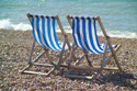 Image Ref: 1015-13-6 - Deck chairs, Brighton seafront, Sussex, Viewed 4171 times