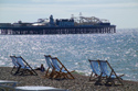 Image Ref: 1015-13-8 - Deck chairs, Brighton seafront, Sussex, Viewed 5214 times