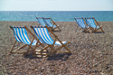 Image Ref: 1015-13-9 - Deck chairs, Brighton seafront, Sussex, Viewed 3860 times
