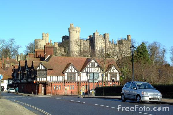 Picture of Arundel Castle, Sussex - Free Pictures - FreeFoto.com