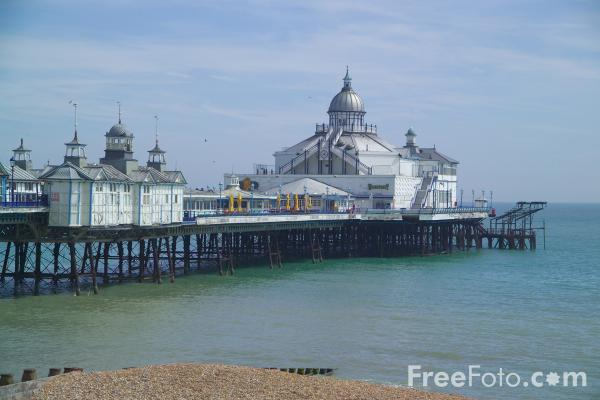 Picture of Eastbourne Pier, East Sussex - Free Pictures - FreeFoto.com