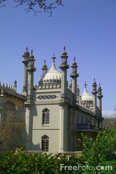 Picture of The Royal Pavilion, Brighton, Sussex - Free Pictures - FreeFoto.com
