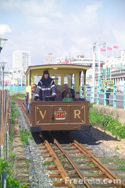 Picture of The Volks Railway, Brighton, Sussex - Free Pictures - FreeFoto.com