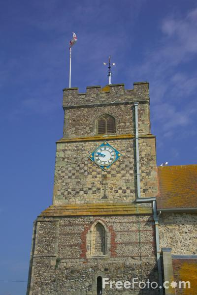 Picture of The Parish church of Sutton with Seaford - Free Pictures - FreeFoto.com