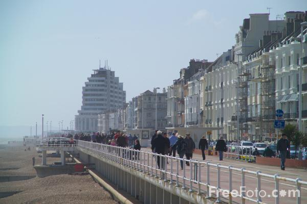 Picture of Hastings, East Sussex - Free Pictures - FreeFoto.com