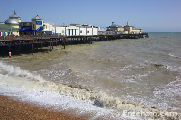 Picture of Hastings Pier, Hastings, East Sussex - Free Pictures - FreeFoto.com