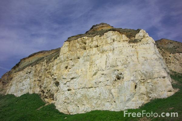 Picture of Cliffs, Newhaven, Sussex - Free Pictures - FreeFoto.com