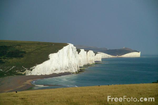 Picture of Seven Sisters, Sussex - Free Pictures - FreeFoto.com