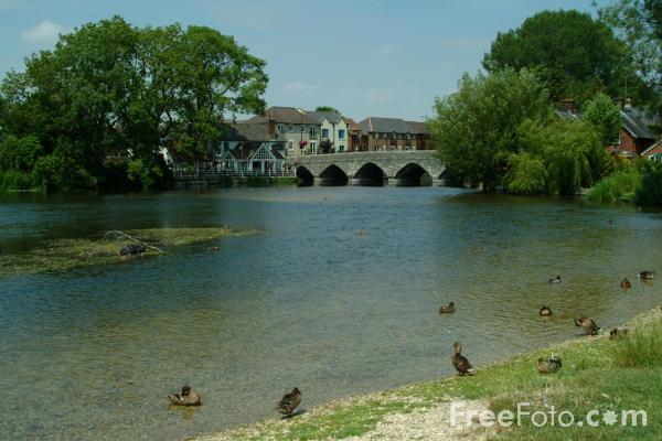 Fordingbridge, Hampshire pictures, free use image, 1018-05-5 by