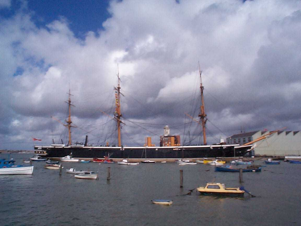 Picture of HMS Warrior - Free Pictures - FreeFoto.com