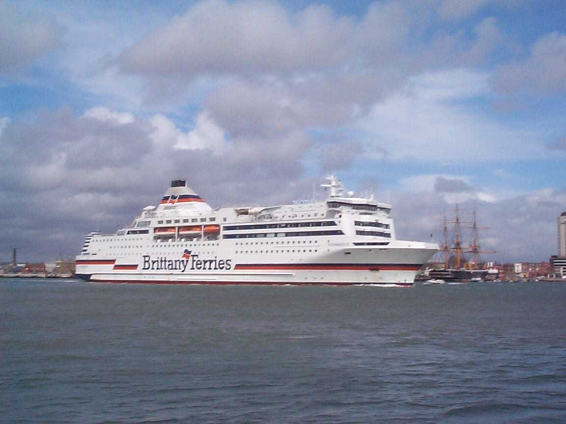 Picture of Brittany Ferries - Free Pictures - FreeFoto.com
