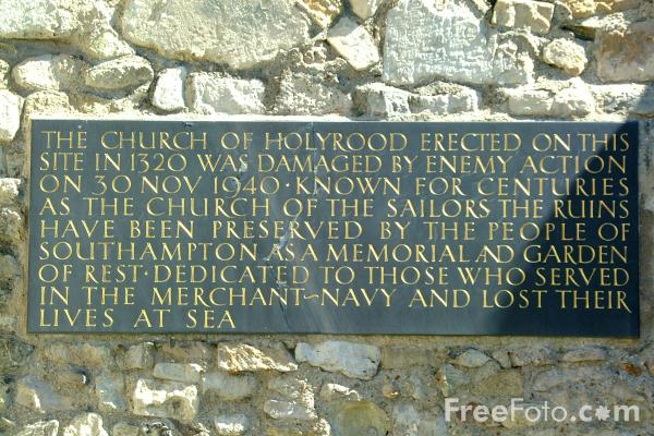 Picture of Holyrood Church, Southampton, Hampshire - Free Pictures - FreeFoto.com