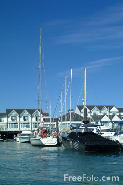 Picture of Marina, Southampton, Hampshire - Free Pictures - FreeFoto.com