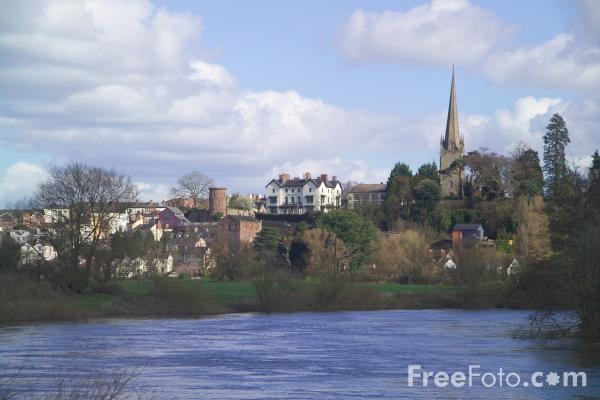 Picture of Ross on Wye,  Herefordshire - Free Pictures - FreeFoto.com