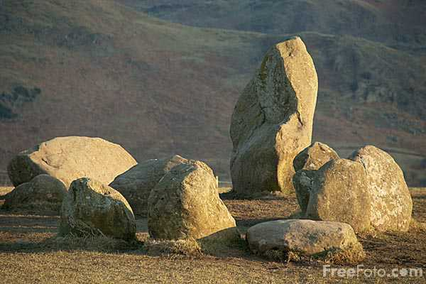 Picture of Castlerigg Stone Circle - Free Pictures - FreeFoto.com