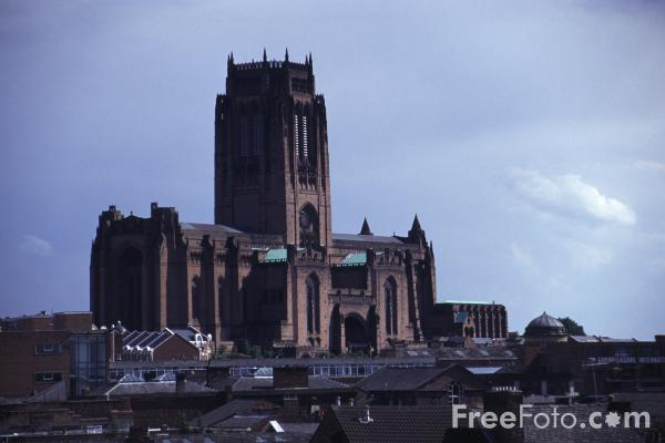 Picture of The Anglican Cathedral, Liverpool - Free Pictures - FreeFoto.com