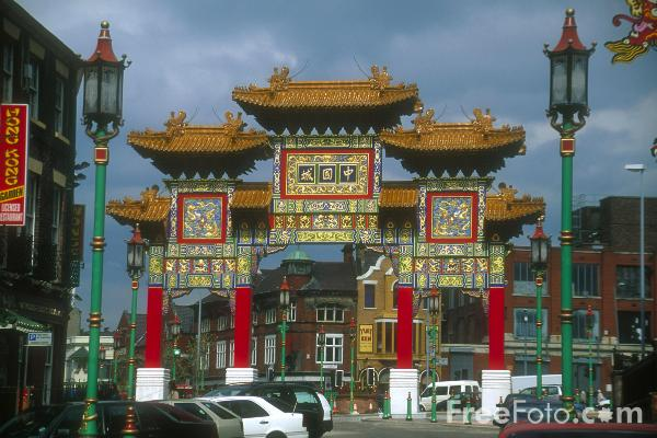 Picture of Chinatown, Liverpool - Free Pictures - FreeFoto.com