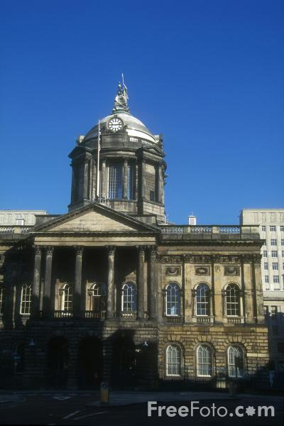 Picture of Liverpool Town Hall - Free Pictures - FreeFoto.com