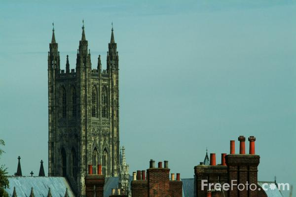 Picture of Canterbury Cathedral, Canterbury, England - Free Pictures - FreeFoto.com