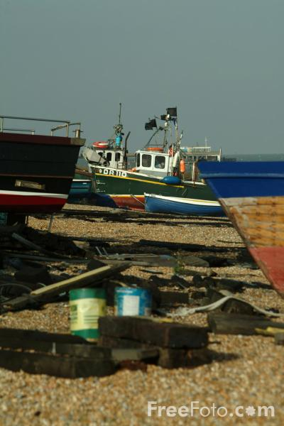 Picture of Fishing Boat, Deal, England - Free Pictures - FreeFoto.com