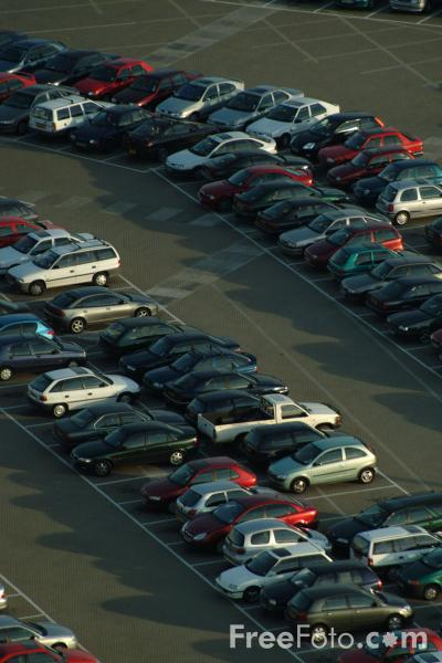 Picture of Car Park, The Port of Dover, England - Free Pictures - FreeFoto.com
