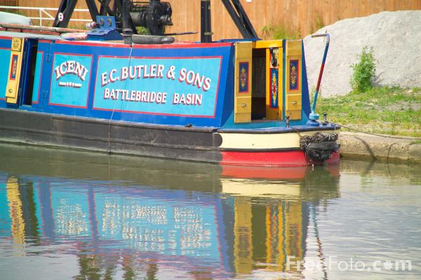 Picture of Grand Union Canal, Kilby Bridge Moorings - Free Pictures - FreeFoto.com