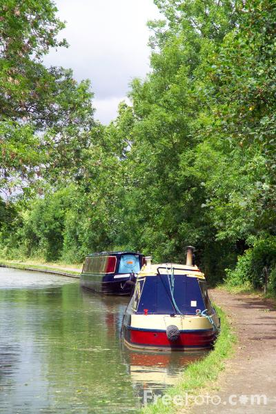 Picture of Grand Union Canal, Foxton, - Free Pictures - FreeFoto.com