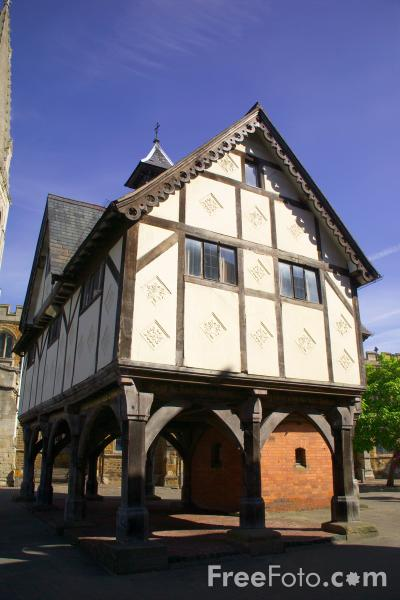 Picture of Old Grammar School, Market Harborough, Leicestershire - Free Pictures - FreeFoto.com