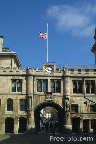 Picture of Guildhall, Lincoln, England - Free Pictures - FreeFoto.com