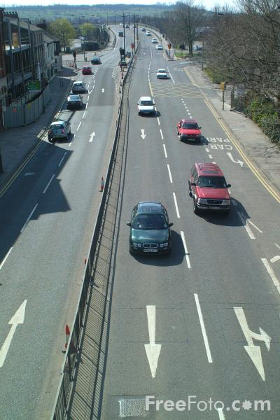 Picture of Inner Ring Road, Lincoln, England - Free Pictures - FreeFoto.com