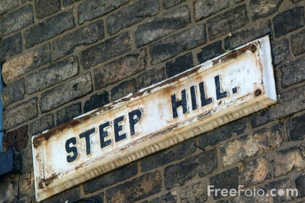 Picture of Steep Hill, Lincoln, England - Free Pictures - FreeFoto.com